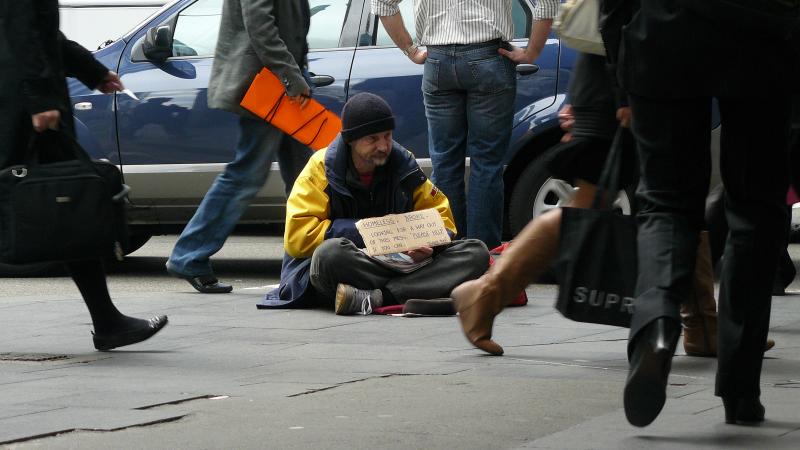 Homeless in...